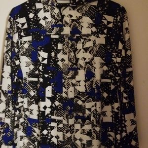 Alfani Tops - Alfani colorful blouse